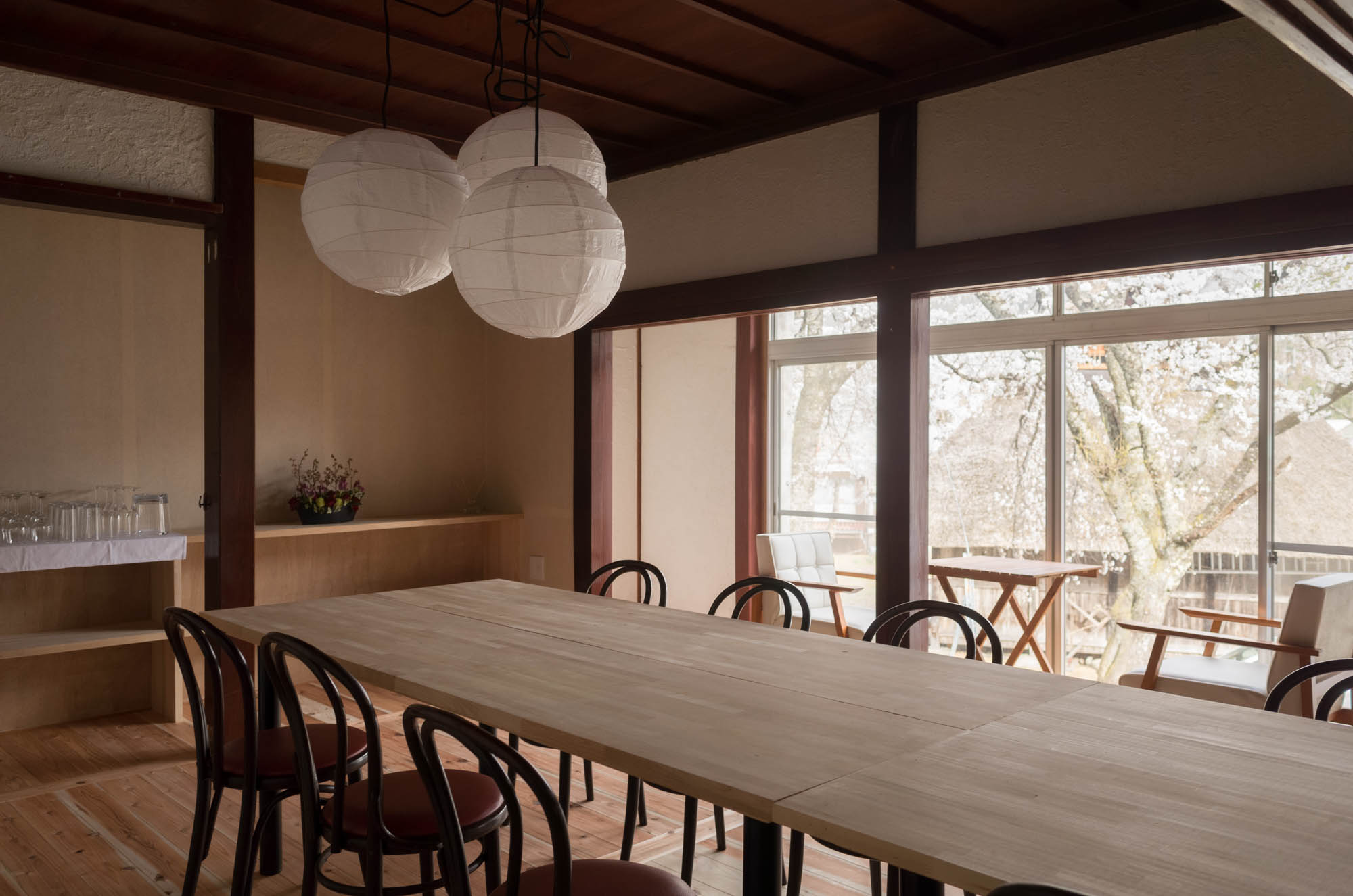ゲストハウス改修プロジェクトが竣工しました。