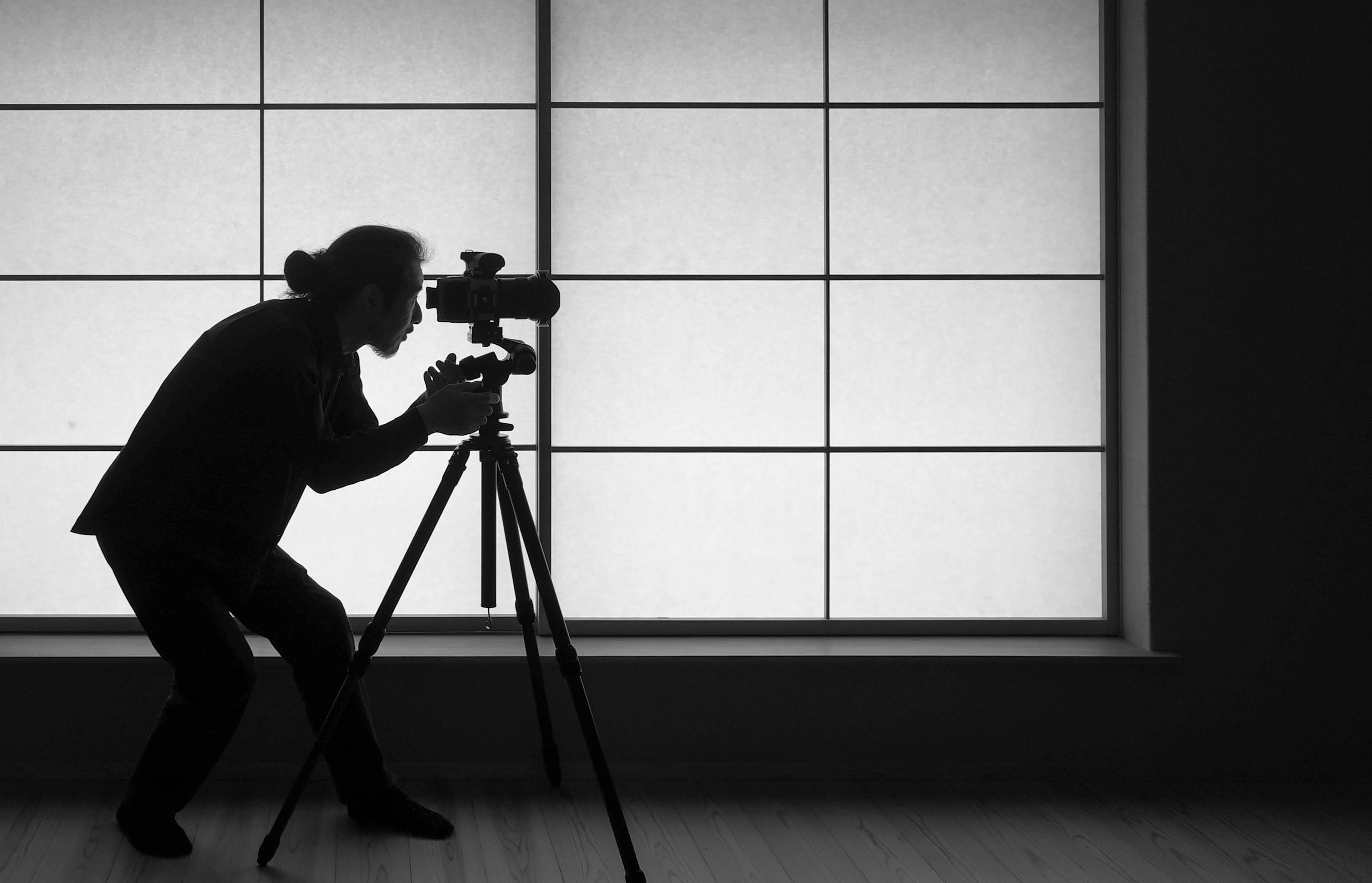 写真撮影の現場